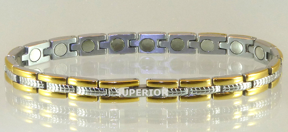 Magnetic Bracelet made of Stainless Steel for pain relief